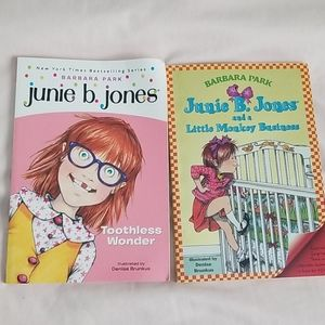 2 Junie B. Jones  books
